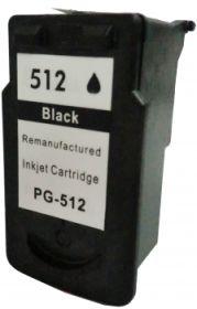 COMPATIBLE CANON - PG-512 noire (15 ml) Cartouche recyclée