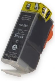 COMPATIBLE CANON - PGI5 Noire (26 ml) Cartouche générique avec Puce