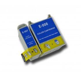 COMPATIBLE EPSON - T007 / T008 Noir + Couleur Cartouches génériques
