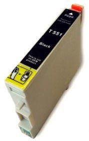 COMPATIBLE EPSON - T0551 Noir (18 ml) Cartouche générique avec puce
