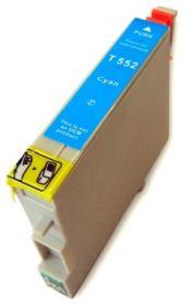 COMPATIBLE EPSON - T0552 Cyan (18 ml) Cartouche générique avec puce