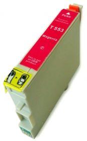COMPATIBLE EPSON - T0553 Magenta (18 ml) Cartouche générique avec puce