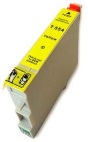 COMPATIBLE EPSON - T0554 Jaune (18 ml) Cartouche générique avec puce
