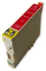 COMPATIBLE EPSON - T0613 Magenta (18 ml) Cartouche générique avec puce