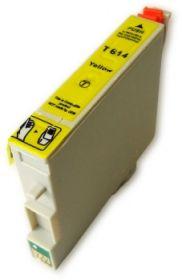 COMPATIBLE EPSON - T0614 Jaune (18 ml) Cartouche générique avec puce