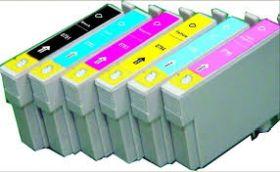 COMPATIBLE EPSON - Pack 6 Cartouches génériques Epson série T0791