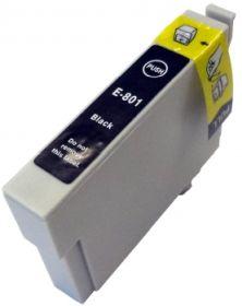 COMPATIBLE EPSON - T0801 Noir (19 ml) Cartouche générique avec puce