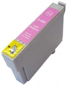COMPATIBLE EPSON - T0806 Magenta Clair (19 ml) Cartouche générique avec puce
