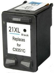 COMPATIBLE HP - 21XL / C9351CE Noir (16 m) Cartouche encre remanufacturée