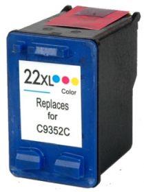 COMPATIBLE HP - 22XL / C9352CE Couleur (15 ml) Cartouche encre remanufacturée