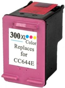 COMPATIBLE HP - 300XL Couleurs (12 ml) Cartouche encre remanufacturée