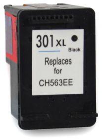 COMPATIBLE HP - 301XL Noir (15 ml) Cartouche d'encre remanufacturée