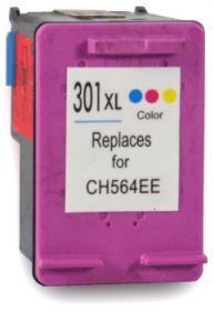 COMPATIBLE HP - 301XL Couleurs (19.5 ml) Cartouche d'encre remanufacturée