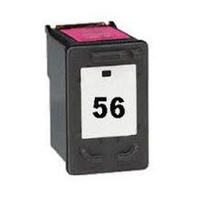 COMPATIBLE HP - 56 / C6656AE Noir (19 ml) Cartouche remanufacturée