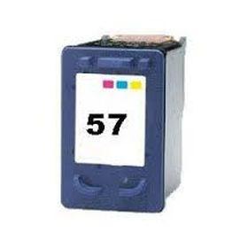 COMPATIBLE HP - 57 / C6657AE Couleurs (18 ml) Cartouche remanufacturée