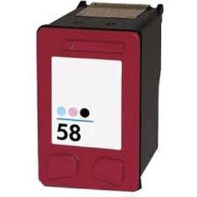 RECYCLE HP - 58 / C6658AE Photo couleur (18 ml) Cartouche remanufacturée