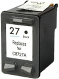 RECYCLE HP - 27 / C8727AE Noir (20 ml) Cartouche remanufacturée