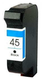 COMPATIBLE HP - 45 / 51645 Noir (45 ml) Cartouche remanufacturée