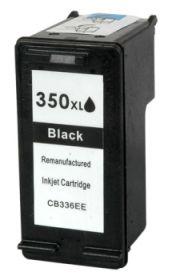 COMPATIBLE HP - 350XL / CB336EE Noir (28 ml) Cartouche d'encre remanufacturée