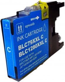 COMPATIBLE BROTHER - LC-1280XL Cyan Cartouche encre générique