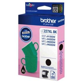 BROTHER ORIGINAL - Brother LC-227 XL Noire (1200 pages) Cartouche de marque