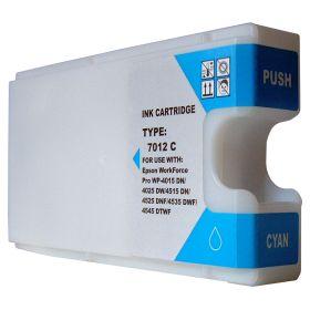COMPATIBLE EPSON - T7012 cyan XXL Cartouche générique