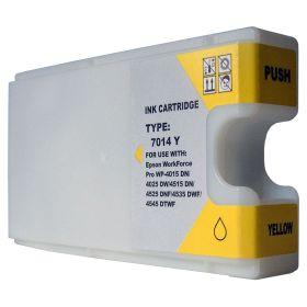 COMPATIBLE EPSON - T7014 jaune XXL Cartouche générique