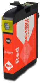 COMPATIBLE EPSON - T1597 Rouge (17 ml) Cartouche encre générique