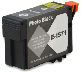 COMPATIBLE EPSON - T1571XL Noir Photo (29,5 ml) Cartouche encre générique