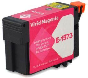 COMPATIBLE EPSON - T1573XL Magenta Vivid (29,5 ml) Cartouche encre générique