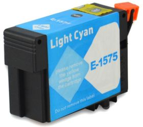 COMPATIBLE EPSON - T1575XL Cyan Clair (29,5 ml) Cartouche encre générique