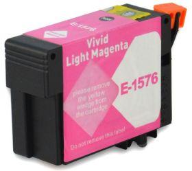 COMPATIBLE EPSON - T1576XL Magenta Clair Vivid (29,5 ml) Cartouche encre générique