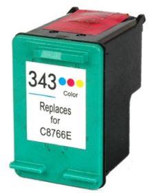 COMPATIBLE HP - 343 / C8766EE Couleur (18 ml) Cartouche d'encre remanufacturée