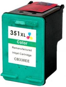 COMPATIBLE HP - 351XL / CB338EE Couleurs (17 ml) Cartouche d'encre remanufacturée