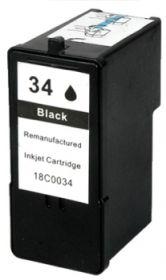 RECYCLE LEXMARK - N°34XL / 18C0034 Noir (475 pages) Cartouche remanufacturée