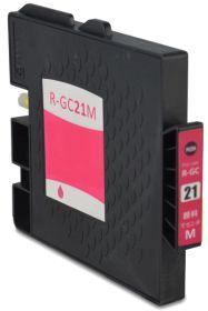 COMPATIBLE RICOH - GC-21 Magenta (1000 pages) Cartouche gel remanufacturée avec puce