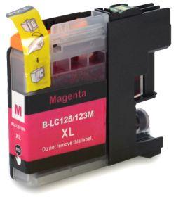 COMPATIBLE BROTHER - LC-125XL Magenta (1200 pages) Cartouche encre générique