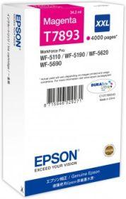 EPSON ORIGINAL - Epson 79 XXL Magenta (4000 pages) Cartouche de marque