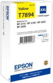 EPSON ORIGINAL - Epson 79 XXL Jaune (4000 pages) Cartouche de marque