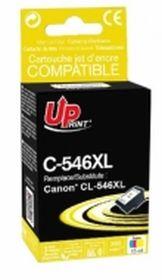 PREMIUM - CL-546XL cartouche couleur remanufacturée Canon Qualité Premium (15 ml )