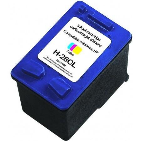 RECYCLE HP - 28 / C8728AE Couleurs (18 ml) Cartouche remanufacturée