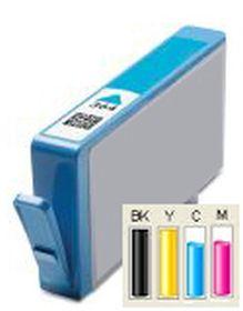 COMPATIBLE HP - 364XL Cyan (6 ml) Cartouche générique avec puce et niveau d'encre