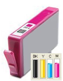 COMPATIBLE HP - 364XL Magenta (6 ml) Cartouche générique avec puce et niveau d'encre
