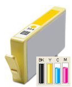 COMPATIBLE HP - 364XL Jaune (6 ml) Cartouche générique avec puce et niveau d'encre