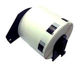 COMPATIBLE BROTHER - Etiquettes d'adresse petite taille compatible 29 x 62 mm, impression noir sur papier blanc