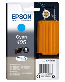 EPSON ORIGINAL - Epson 405 Cyan Cartouche d'encre de marque Epson série Valise