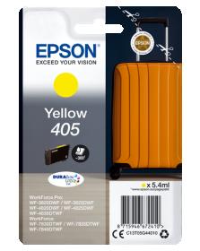 EPSON ORIGINAL - Epson 405 Jaune Cartouche d'encre de marque Epson série Valise