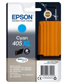 EPSON ORIGINAL - Epson 405XL Cyan Cartouche d'encre de marque Epson série Valise