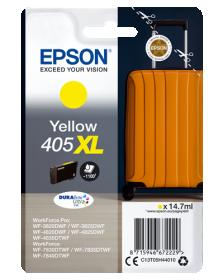 EPSON ORIGINAL - Epson 405XL Jaune Cartouche d'encre de marque Epson série Valise