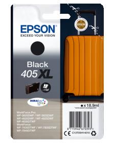EPSON ORIGINAL - Epson 405XL Noir Cartouche d'encre de marque Epson série Valise